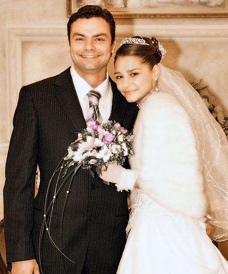 Тарханова Глафира Александровна со своим мужем